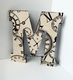 We've seen DIY letter tutorials before but this print is gorgeous!