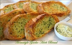 Melissa's Southern Style Kitchen: Homestyle Garlic-Herb Bread