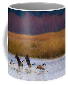 Not Following The Crowd Coffee Mug by Scott Hervieux.  Small (11 oz.)
