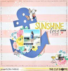 Sunshine love + process video / The Cut Shoppe