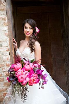 Four Stunning Looks for the Bride and Groom
