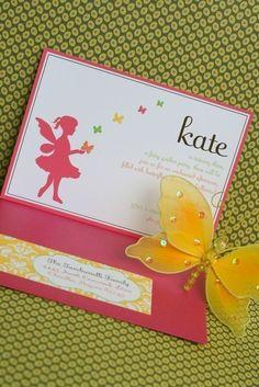 Fairy Party Invitation  Printable Birthday by tomkatstudio on Etsy, $15.50