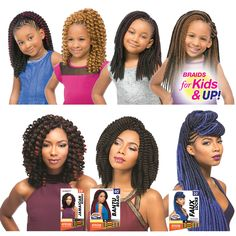 We now carry hair for all Ages ! Come on in to any of our locations today .