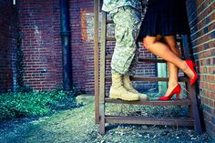 Military Couple Ideas can I just say they are always the cutest couples! <3<3<3<3