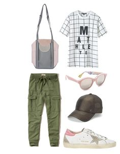 """""""Untitled #17"""" by mona-chictrend on Polyvore featuring Hollister Co., Chicnova Fashion, Golden Goose, Georgina Skalidi, RetroSuperFuture and True Religion"""