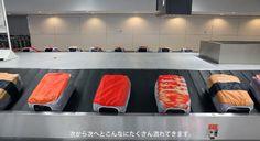 เปลี่ยนกระเป๋าเดินทางเป็นซูชิเก๋ๆ ด้วยผ้าคลุมกระเป๋าลายซูชิ | JGB (Japanese Gourmet Bangkok)