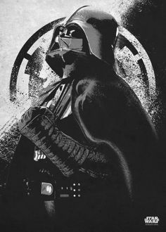 Star Wars Metal Poster Plate Rogue One Gray Morality Darth Vader #starwars