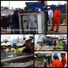 EQ300S para empresa de Ingeniería y Mantenimiento Marítimo.