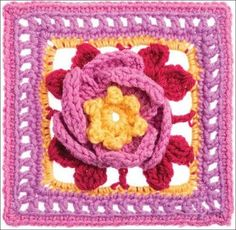 Crochet Patterns  for  365 square  crochet motifs  829