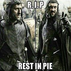 Frey Pie! - Best of Game of Thrones Check out our Game of Thrones Merch Store: https://thinkgot.com    {#winteriscoming #gameofthrones #GoT #gameofthronesfamily #jonsnow #instalike #f4f #like #gameofthroneshbo #gameofthronesfan #gameofthronesmemes #westeros #got7 #khaleesi #housestark #nightswatch #youknownothingjonsnow #asongoficeandfire #stark #lannister #daenerystargaryen #targaryen #daenerys #sansastark #tyrionlannister #motherofdragons #housestark #winterfell #jaimelannister}
