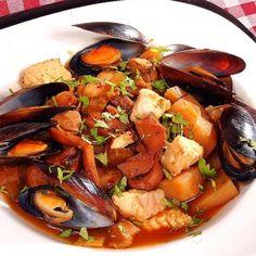 Sopa De Mariscos- Seafood Stew/soup, Using A Sofrito
