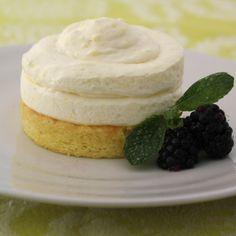 Lemon Mousse Cakes