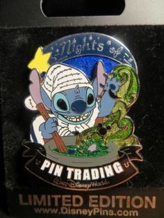 Walt Disney World Nights of Pin Trading Lilo & Stitch Pin Rare LE 500 Event Only Pin by Disney, Disneyland Images, Disneyland Pins, Vintage Disneyland, Disney Day, Disney Pixar, Disney Frozen, Walt Disney, Rare Disney Pins, Disney Trading Pins