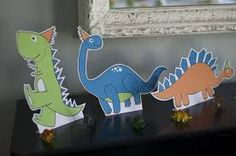 Resultado de imagen para decoracion con dinosaurios para niños