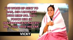 Vicky does not remember a dicky bird Vicky Pattison Geordie Shore, Geordie Shore Quotes, Geordie Shore Vicky, Mtv Shows, Best Tv Shows, Mtv Tv, Longest Movie, Images And Words, Tv Show Quotes