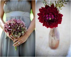 Elegant Raspberry Red & Grey Wedding - Bridal Musings Wedding Blog