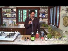 Making coconut-watermelon-berry kefir with David Wolfe. No need to buy the expensive kefir starters sold by Donna Gates (body ecology) and others. David shows us in this video how to use ordinary probiotic caps to jump start the fermentation process!