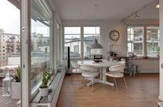 Trendy Swedish flat on the island of Lilla Essingen