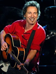 BRUUUUUUCE!  (easy on the eyes) Springsteen