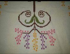 Diy And Crafts, Cross Stitch, Towels, Dots, Embroidery, Cross Stitch Heart, Crosses, Crossstitch, Punto Croce