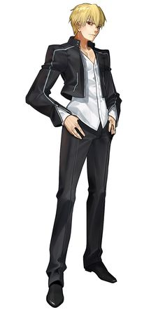Gilgamesh, Immoral Rider Jacket Outfit from Fate/Extella: The Umbral Star