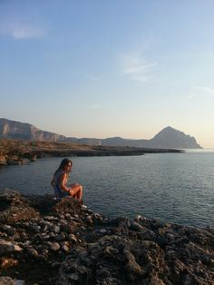 Emotion and sunset in San Vito Lo Capob