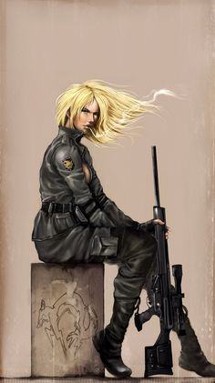 Metal Gear Solid Sniper Wolf