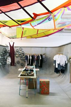 Beach in the East pop-up shop