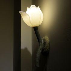 55.00$  Buy now - http://aliz6k.shopchina.info/go.php?t=32385963399 - Lotus flower design wall lamp hallway corridor light 55.00$ #shopstyle