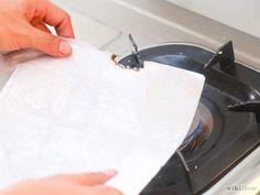 Donner un air ancien à du papier