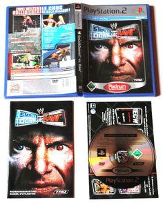 WWE SmackDown! Vs. Raw für Playstation 2 in OVP!