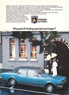 Holden Premier, Holden Australia, Australian Muscle Cars, Big Girl Toys, Australian Vintage, Holden Commodore, Car Brochure, Sports Sedan, General Motors