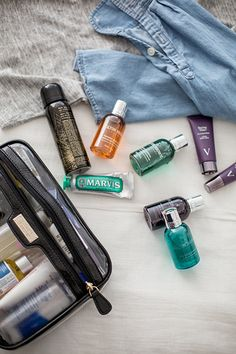 How to Pack Toiletries
