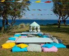 christening design by the sea