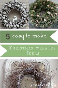 5 easy to make Christmas wreaths   eBay