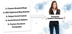 Omni builds custom branded blogs, writes SEO optimised articles & then promotes them on social networks.