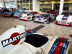 all the legend in one room! Sports Car Racing, F1 Racing, Porsche Motorsport, Classic Race Cars, Martini Racing, Vintage Race Car, Modified Cars, Courses, Le Mans
