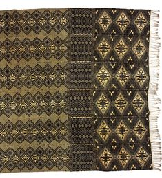 Narrow-strip cloth (pano d'obra) (detail) Cotton Manjak people, Guinea-Bissau, early 20th century