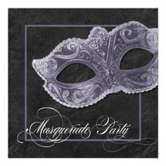 Masquerade Party Invitation - Slate Grey This site is will advise you where to buyHow to          Masquerade Party Invitation - Slate Grey Online Secure Check out Quick and Easy...