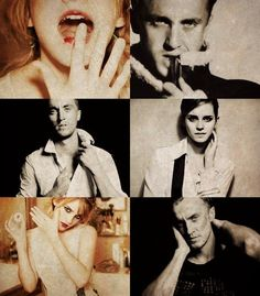 srkpcdramione Draco And Hermione, Draco Malfoy, Hermione Granger, Dramione, Drarry, Slytherin, Hogwarts, Hot Couples, All Is Well