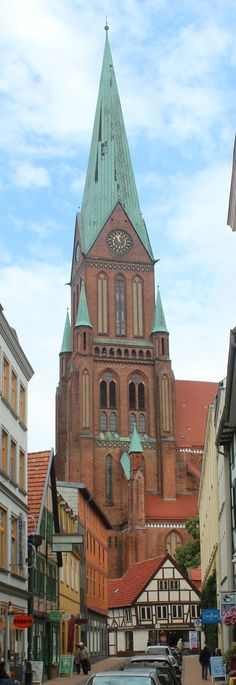 Schwerin church; Germany! Love it there!