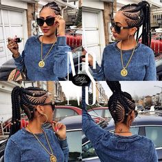 i swear i'm in #love with @natalystyles1 #creativity!!! These #braids are on…