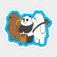 Bear Wallpaper, Galaxy Wallpaper, Pattern Wallpaper, We Bare Bears Wallpapers, We Bear, Printable Planner Stickers, Dragon Ball Gt, Cute Bears, Aesthetic Stickers