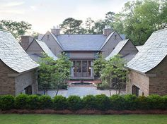 Beautiful stone clad residence in Mountain Brook, Alabama