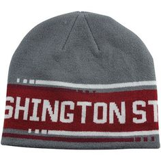 8513139fda8 Nike Washington State Cougars Game Time Knit Beanie Hat  GoCougs Knit  Beanie Hat