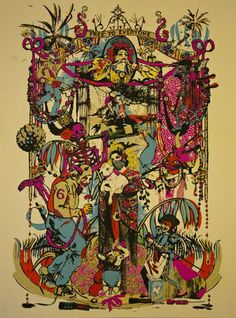 Free to Everyone (Silkscreen with Hand Finishing Signed Limited Edition of 25) by Lidia de Pedro