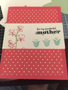 Mothers day card. Delightful dozen and happy watercolor stamp