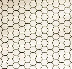 White Hexagon Mosaic Matt Damastown Dublin