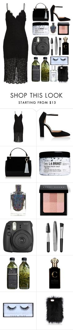 """""""4.741"""" by katrina-yeow ❤ liked on Polyvore featuring Gianvito Rossi, L:A Bruket, Bobbi Brown Cosmetics, Fujifilm, Sephora Collection, AMBRE, Clive Christian and Huda Beauty"""