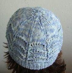 Panda Silk DK Scallop Lace Hat & Fingerless Gloves - free knit patterns in bamboo blend yarn - Crystal Palace Yarns